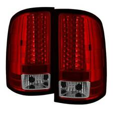 Spyder LED Tail Lights - Red Clear for 07-14 Sierra 1500 / 2500HD / 3500HD