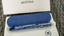 MOLTENI PEN MODELO 88 SIENA BLUE LIMITED EDITION FOUNTAIN PEN .