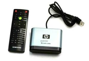 NEW SAMSUNG MCE Remote Control + HP USB IR Receiver Win7 Vista