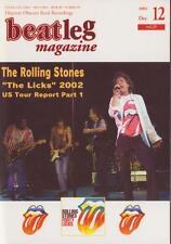 Beatleg Dec/2002 Mag Japan The Rolling Stones Special