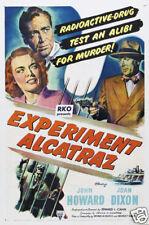 """Escape from Alcatraz Reprint Movie Poster 17/""""x24/""""  ROLLED MHPO-2514"""