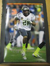 LaMichael James signed autographed photo 12X18  PSA/DNA auto Oregon