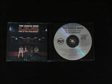 The Guess Who Live at the Paramount 1992 RCA BMG Canada Reissue CD MEGA RARE