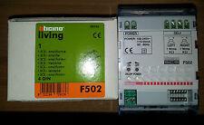 BTICINO F502 amplificatore audio SCS My Home domotica