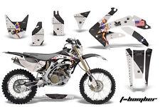 Honda CRF 450X Graphic Kit AMR Racing # Plates Decal Sticker Part 05-13 TBB
