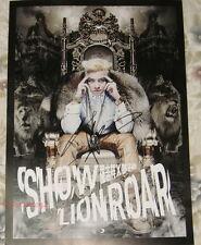 Show Luo Zhi Xiang Lion Roar 2013 Taiwan Autograph Promo Poster