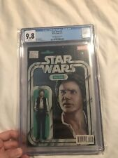 Star Wars #2 CGC 9.8 Action Figure Variant Han Solo 4/15 - New Cgc Case