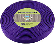 Country Brook Design® 1 Inch Purple Polypro Webbing, 100 Yards