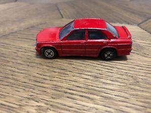 Corgi Red Mercedes Benz 190E Made in Great Britain Diecast Scale
