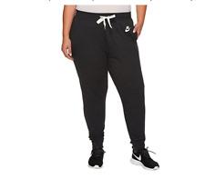 Nike Sportswear Gym Classic Women's Pants - Size 1XL - Black Heather 908898 032