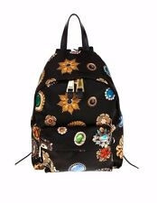 Moschino Couture X Jeremy Scott Gem Stones Embroidered Monogrammed Backpack
