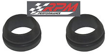 "SET OF 2 ALUMINUM valve cover BREATHER rubber grommet 1"" ID & 1.25"" OD A98"