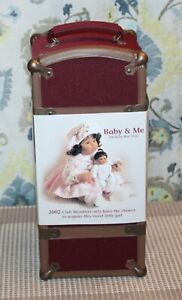 2002 LEE MIDDLETON Club Members only BABY & ME Trunk Set