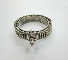 Antique ethnic tribal old silver Bracelet Bangle Rajasthan India