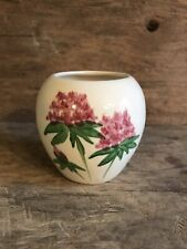 Emerson Creek Pottery Vase with hand painted hydrangeas.