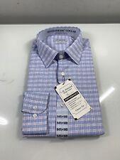 Haggar Men's Premium Performance Classic Fit Dress Shirt 15-15 1/2 X 34/35