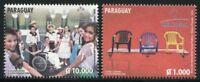 Paraguay 2014 Mercosur Anti-Diskriminierung Kinder Children 5256-5257 MNH