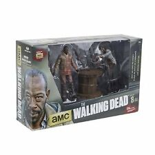 The Walking Dead - Morgan Jones w Impaled Walker N Spike Trap Action Figure Set