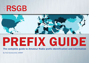 RSGB Prefix Guide - NEW - The BEST Book for Ham / Amateur DX and HF Radio users