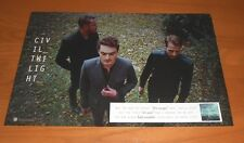 Civil Twilight Promo 2012 Poster 11x17
