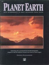 Planet Earth Late Intermediate - Early Advanced Piano Solos Book 1991 Alexander