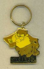 1995 Six Flags Tazmanian Devil Key Chain