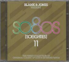 BLANK & JONES / PRESENT SOEIGHTIES 11 / SO80S 11 * NEW 2CD'S 2018 * NEU