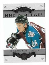 2003-04 UD CLASSIC PORTRAITS NHL' PROTEGES # 184 JOHN-MICHAEL LILES 0220/1150 !!