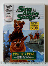 Disney Karaoke Sing Along Songs DVD Hercules Goofy Movie Pan Brother Bear Etc.