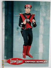 CAPTAIN SCARLET - Individual Trading Card #34, Captain Scarlet - Unstoppable