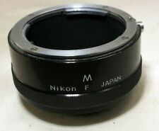 Nikon F M Nikkor extension tube macro genuine original for 55mm micro