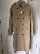 A.P.C Paris 'Greta' Classic Trench Coat Beige Mac BNWT size 36 £499