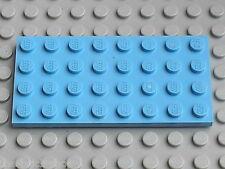Plaque LEGO MdBlue plate 4 x 8 ref 3035 / set 10214 5378 7298 4480 7477 70010...