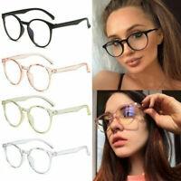 Gaming Glasses Computer Anti Fatigue Blue Light Blocking Filter Eyeglasses UK~