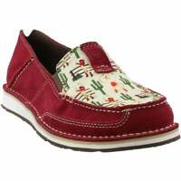 Ariat Cruiser Moccasins Womens  Flats Casual   - Red - Size 6 B