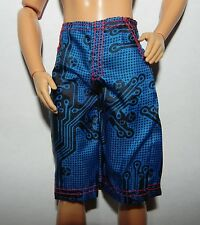1/6 SHORT BERMUDA Calecon Underwear KEN MATTEL DOLL POUPEE 1