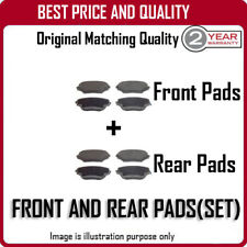FRONT AND REAR PADS FOR LEXUS LS400 4.0 10/1994-12/2000