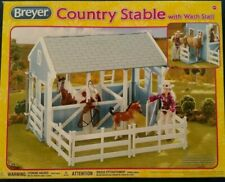 Breyer Country Stable w/ Wash Stall - Scale 1:12 - New in Box w/ Free Us Ship!