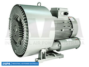 IAPA 2 (Two) Stage Side Channel Blower 16Kw (at 50Hz) 3 Phase - P/N TS-83190