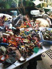 Vtg Lot 100++ Marx MAR Plastic Toy Sets Cowboy Indian Horse Soldier Farm Animal