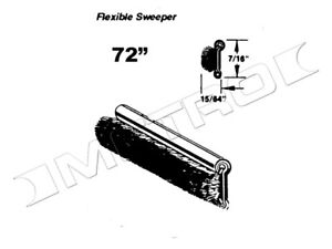 """Flexible Sweeper, 72"""" long, Fits:1933-1960 Buick, Cadillac, Chevrolet and more"""