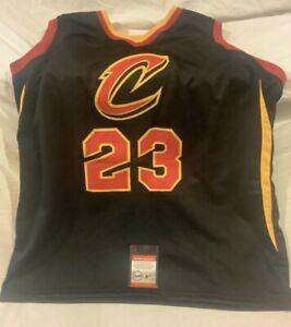 Lebron James Signed Autographed Jersey Cleveland Cavaliers NBA Basketball COA