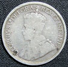 1912 Canada 10 Cents Silver Coin