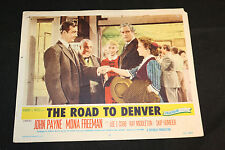 1955 The Road To Denver Lobby Card #6 Skip Homeier Ray Middleton 55-267 (C-5)