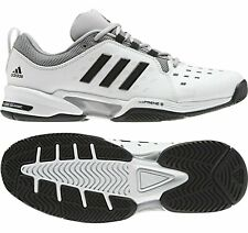 NEW Adidas Barricade Classic Wide 4E Men's Tennis Shoes, Black/White, BY2920