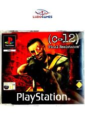 C-12 Final Resistance PAL/EUR PSX PS1 Promo Retro Playstation Videojuego Mint