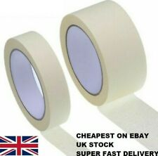 GENERAL MASKING TAPE 50MM - 25MM X 10M 15M 50M DIY PAINTER Super Fast Delivery