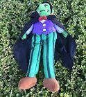 Vintage Halloween Plush Dracula Vampire Gibson Greetings Spooky Doll 1997