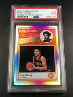 TRAE YOUNG 2018 PANINI NBA HOOPS #5 CLASS OF 2018 HOLO PARALLEL ROOKIE RC PSA 9