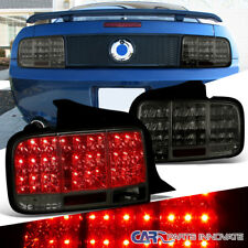 05 09 Mustang Sequential Led Smoke Lens Parking Tail Lights Brake Rear Lamps